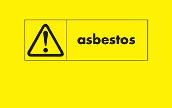 Asbestos warning logo