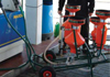 Petrol pump testing equipment