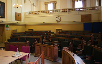 Oxfordshire's council chamber