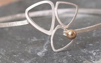 A sliver bracelet