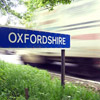 Oxfordshire road sign