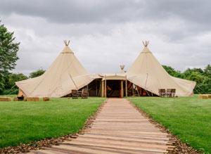 Dovecote Barn at Bo Peep Farm tent image