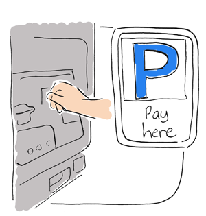 a pay and display machine