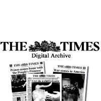 The Times Digital Archive 1785-2007