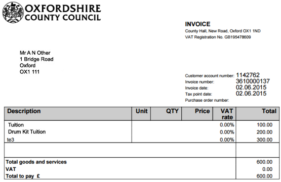 Picnictoimpeachus  Ravishing Pay An Invoice Online  Oxfordshire County Council With Exciting Example Invoice With Agreeable Lic Premium Paid Receipt Also Dumpling Receipt In Addition Rental Receipts Template And Epson Receipt As Well As Biscuits Receipts Additionally Receipts For Rental Property From Oxfordshiregovuk With Picnictoimpeachus  Exciting Pay An Invoice Online  Oxfordshire County Council With Agreeable Example Invoice And Ravishing Lic Premium Paid Receipt Also Dumpling Receipt In Addition Rental Receipts Template From Oxfordshiregovuk