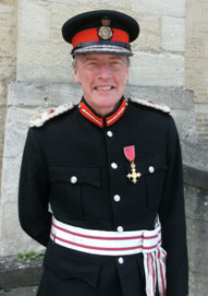 Oxfordshire's Lord Lieutenant is Tim Stevenson OBE