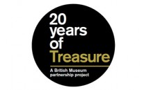 20 years of treasure logo