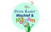 logo and image from Peter Rabbit event