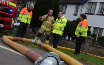 An innovative plan to keep Oxford open for business during heavy rainfall was unveiled today.  Oxfordshire County Council contributed £59,000 towards the scheme which enables Oxfordshire Fire and Rescue Service to pump water underneath Botley Road.  When the road has flooded previously, drivers had to manoeuvre over ramps as the fire service worked at the side of the road.