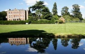 Ardington House with reflection