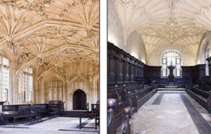 Views of the Bodleian rooms