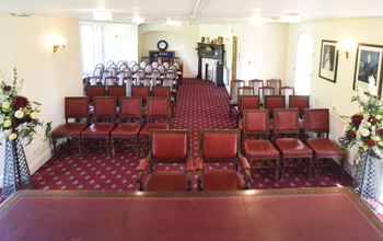 Bicester ceremony room