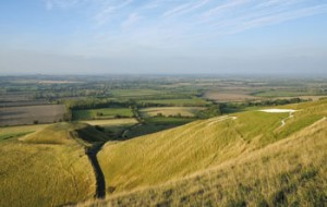 Dragon Hill and uffington white horse