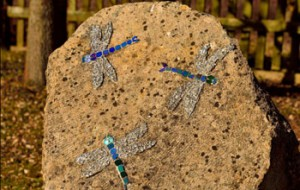 Dragonfly mosaic. Image by Chris Hughes.