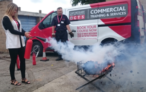 Fire Marshal practical session