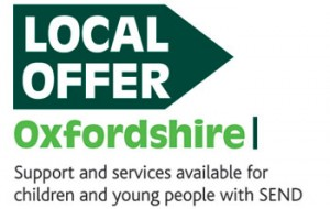 Local Offer logo - Support and services available for children and young people with SEND