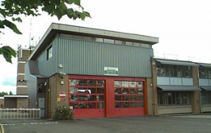 Kidlington fire station