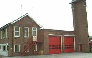 Bicester fire station