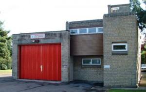 Deddington fire station