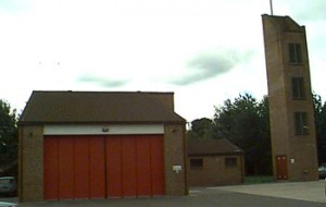 Eynsham fire station
