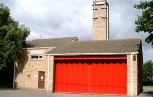 Bampton fire station