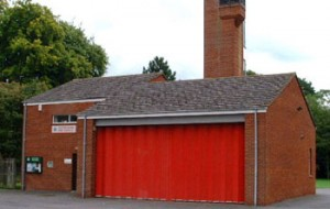 Goring fire station