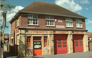 Thame fire station