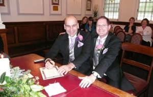 Civil partnership ceremony