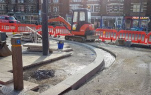 work at Frideswide Square