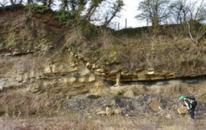 Rock strata.  Copyright © 2011 The Geology Trusts - all rights reserved.