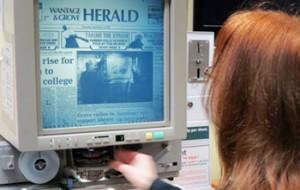 Using microfilm