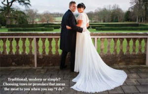 While A Civil Wedding Ceremony Has Fairly Standard Format There Is Plenty Of Scope Within It To Make Personal Statement Your Love And Commitment
