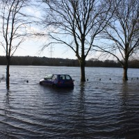 Stranded car (photo by Paul Langcaster)