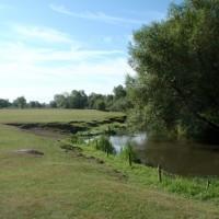Meadow path alongside the River Cherwell