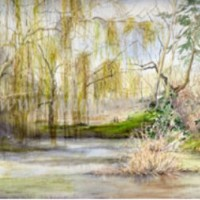 The work of watercolourist Ronnie Loxon will be on display.