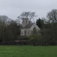 View of Shipton on Cherwell church