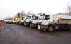 Gritting lorries