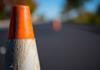 orange traffic cone